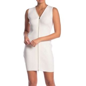 NWT Rag & Bone White Vivienne Ribbed Dress